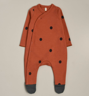 Rust spot sleepsuit