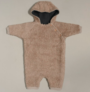 Fleece baby suit