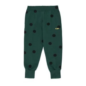 Green dot tracksuit bottoms