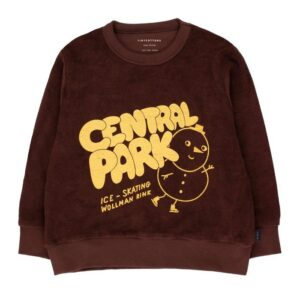 Brown central park sweatshirt