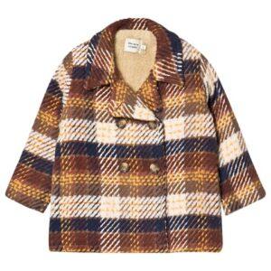 Check winter coat