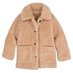 Girls faux fur coat