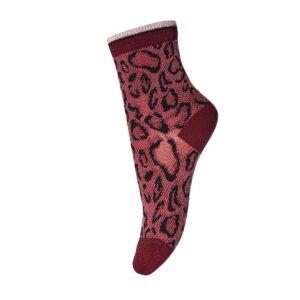 Brick leopard socks