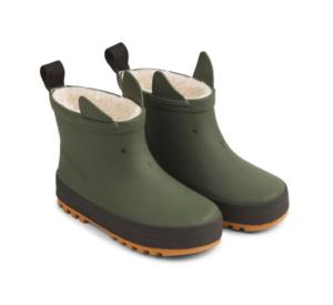 green ear rain boots
