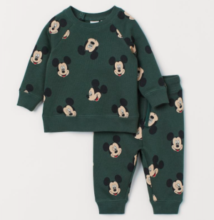 Mickey Mouse sweatshirt & joggers