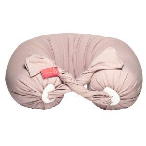 Dusty pink pregnancy pillow