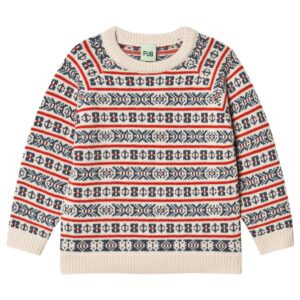Fair isle kids jumper