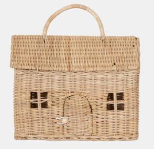Rattan house bag