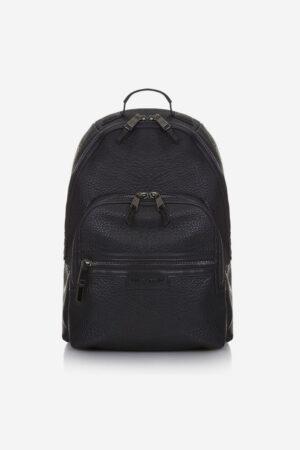 Black baby changing rucksack