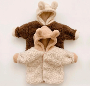 Baby bear textured jacket