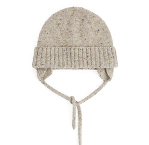 Alpaca wool baby hat