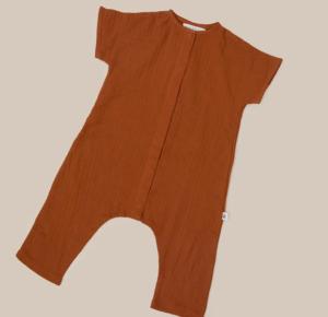 cinnamon linen playsuit