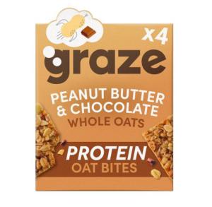 Protein peanut butter chocolate flapjacks