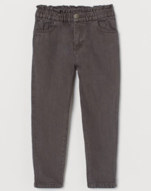 Grey loose fit jeans