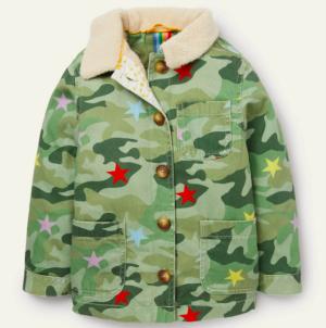 Kids camo jacket