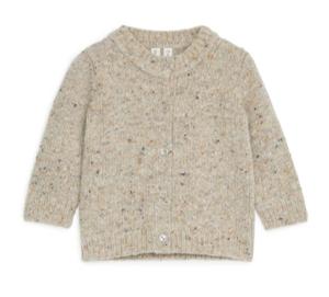 Merino wool baby cardigan