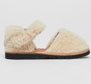 Shearling kids shoes
