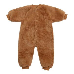 Camel fluffy snowsuit